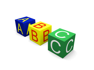Abc on cubes