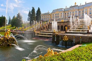 Wall Mural - Peterhof