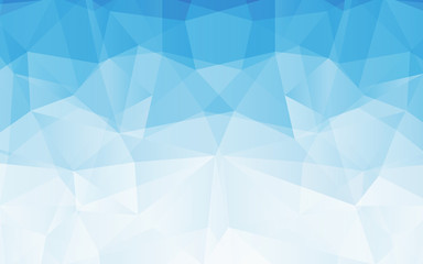 Abstract blue Geometrical Background