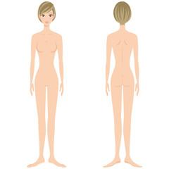 裸 ヌード 全身 美容