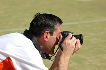 Hombre haciendo fotos