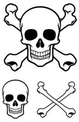 skull with cross bone