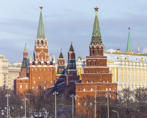 Russian capital of Moscow Kremlin, Russia