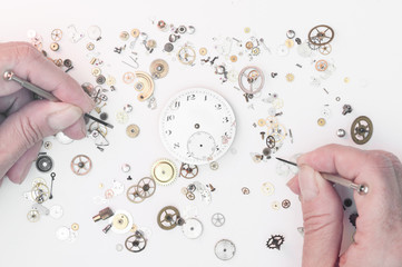 Repair of watches