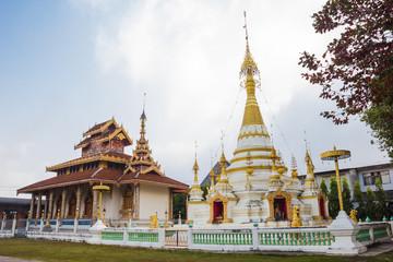 Hua Wiang temple in Mae Hong Son, Thailand