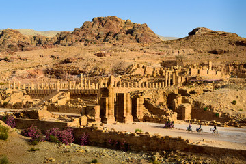 The city of Ancient Petra, Jordan