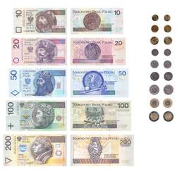 List of Polish money