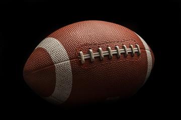 Isolated american football ball