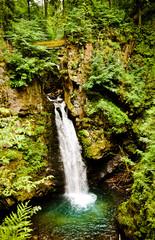 Wilczki falls, Sudety, Poland
