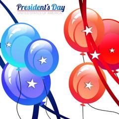 President's Day Balloons