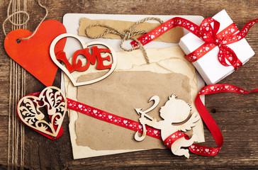 scrapbooking, valentine day