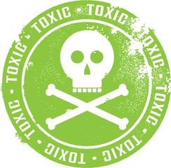 Toxic Danger Sign