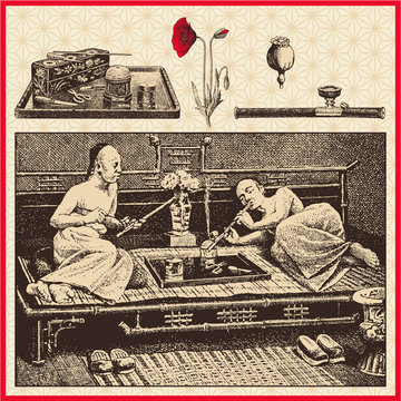 chinese opium smokers
