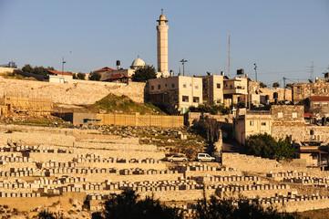 The Mount of Olives in Jerusalem