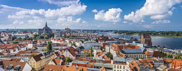 Rostock, Germany Panorama