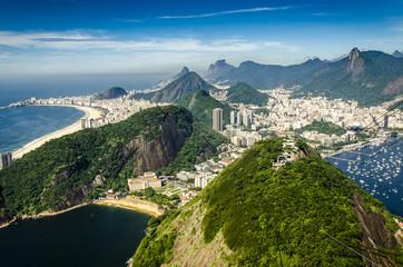 Canvas Print - Blick vom Zuckerhut, Rio, Brasilien