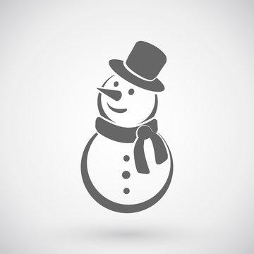 Snowman icon.