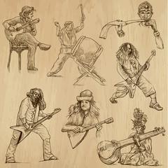 World MUSIC and MUSICIANS around the World (set no.1)