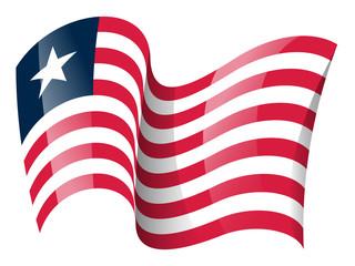 Liberia flag - Liberian flag