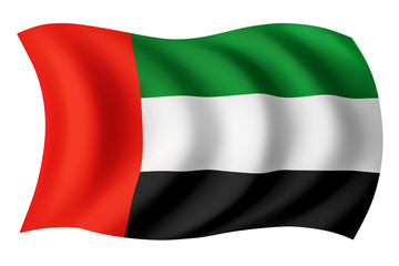 United Arab Emirates flag - Emirati flag