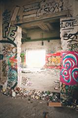 Verlassenes Gebäude in Berlin