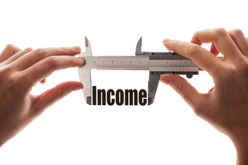 The size of our income
