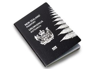 Keuken foto achterwand Nieuw Zeeland New Zealand passport