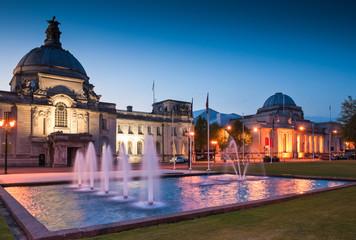 City Hall, Cardiff, UK