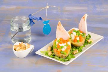 Sailboat salad