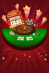 Casino gambling design