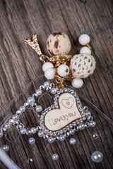 I Love You Heart shape jewelry
