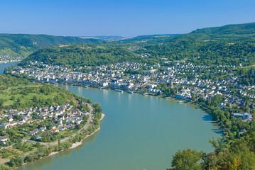 Wein-und Touristenort Boppard im Mittelrheintal