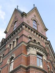 Stockholm, Sweden. Architectural details of city buildings
