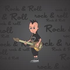 music guy cartoon