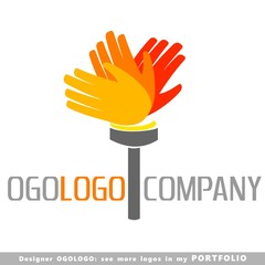 human torch logo