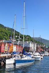 Der Hafen von Bergen