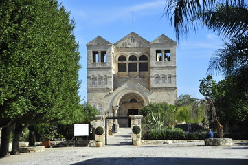 The Church of the Transfiguration, Mount Tabor, Israel