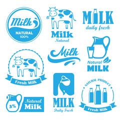Milk labels