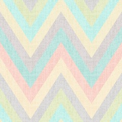 seamless pastel multicolors grunge textured chevron pattern
