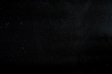Dust on a black background