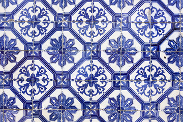 Traditional Portugese Tile (azulejos), Lisbon, Europe