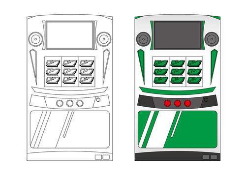 スロットマシン slot machine