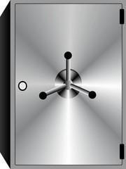 3D Metal Vault Image