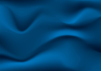 abstract amorphous blue vector background illustration