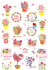 Collection of greetings
