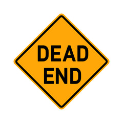 traffic sign - dead end - e490