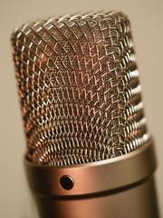 Large diaphragm microphone macro