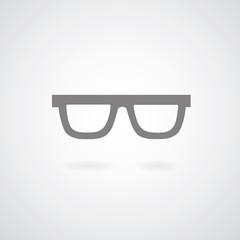 Glasses symbol