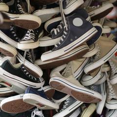 Used sneakers.