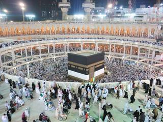 Fototapete - Journey to Hajj in Mecca 2013